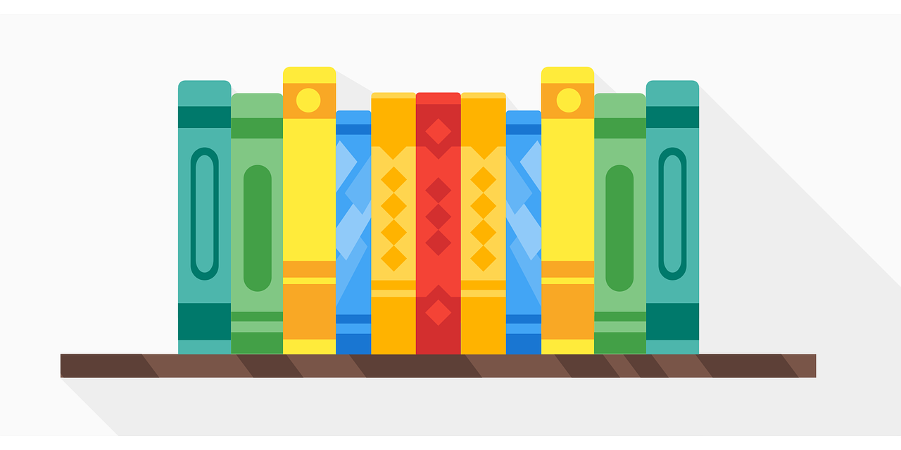book, rack, shelf